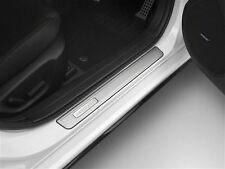 New Genuine Mazda 3 BM BN Aluminium Scuff Plate Set Mazda3 BM11ACSP 2013-Current