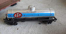 Vintage 1980s HO Scale Tyco STP Silver Tank Car #2