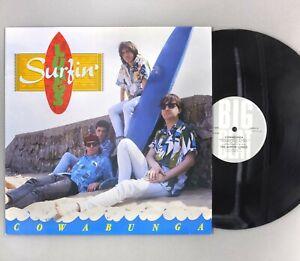 """Surfin' Lungs - Cowabunga - 12"""" Vinyl LP - WIKM 41"""