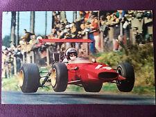 Photo GP d'Allemagne F2 1969 Derek Bell Ferrari Dino 166 Nürburgring Formula F1