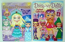 Dress-Up Dolls Fairies & Princesses and Fashion Collection Paper Dolls New