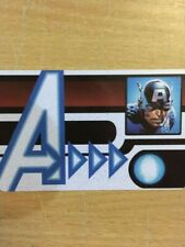103 Captain America Id Card Age of Ultron Marvel Heroclix