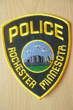 Patches: ROCHESTER MINNESOTA USA POLICE PATCH (NEW*. apx. 12x10 cm)