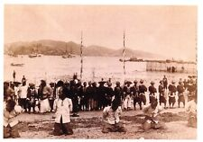 Vintage Repro Postcard, Hong Kong, Chinese Pirates on the Execution Ground #327