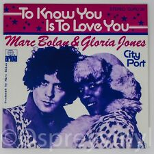 "T.Rex Marc Bolan To Know You is to Love You Brand New 7"" single Gloria Jones"
