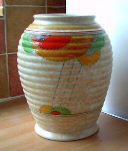 Art Deco 1930s Decoro Pottery Vase, retro, vintage, shabby chic
