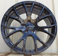 "20"" Fits Hellcat Rims Gloss Black SRT8 Dodge Challenger RT Charger 9/10"" Wheels"
