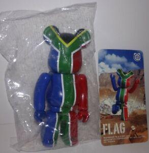"Medicom Bearbrick Series 20 S20 Flag ""South Africa"" Be@rbrick With Card"