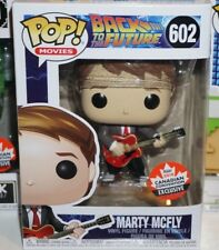 Funko Pop Marty Mcfly #602 Back to the Future Canada Expo Exclusive Brand New
