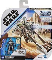 Star Wars Mission Fleet Mandalorian & Child Speeder Bike Vehicle & Action Figure