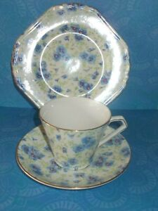 *Lord Nelson Chintz Trio/ Pansies/Reduced Price!*