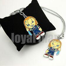 Bride of Chucky key chain & necklace Mezco Horror Child's Play Good Guy