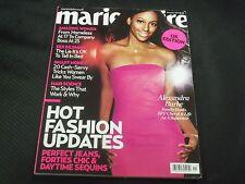 2009 NOVEMBER MARIE CLAIRE UK EDITION MAGAZINE - ALEXANDRA BURKE COVER - O 6033