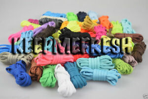 Oval Colorful Replacement Shoelaces 40+ Colors NEW Laces + BUY 2 GET 1 FREE