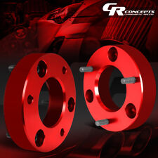"""FOR 07-17 SILVERADO/SIERRA RED 2""""FRONT UPPER MOUNT LEVELING LIFT KIT SPACERS"""