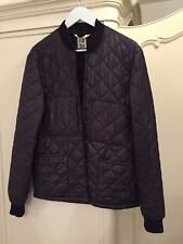 Paul Smith Men's Black Quilted Jacket Blazer Parka Size M