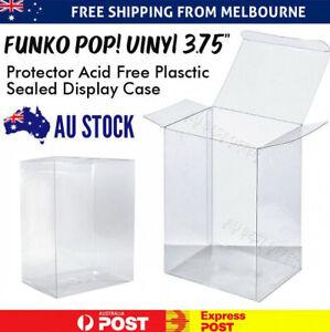 "3.75"" Funko Pop! Vinyl Protector Box Acid Free Plastic Auto Seal Display Case AU"