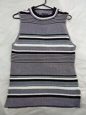 CITY CHIC XS 14 NWT RRP $59.95 TOP STRIPE PLAY OX BLOOD