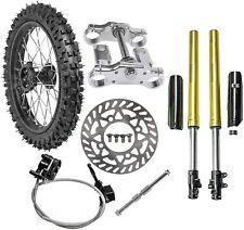 "17"" Dirt Pit Bike Front Wheel End Parts 70/100-17 Tire Rim 125cc Taotao Db17 Crf"