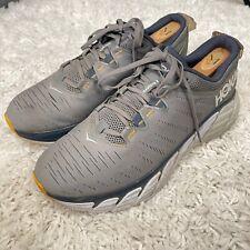 Hoka One One Gaviota 3 Athletic Running Shoes Gray Yellow Mens Size 12 D