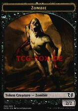 4x Zombie Token ● Duel Decks: Blessed vs. Cursed ● M/NM ● Magic MTG