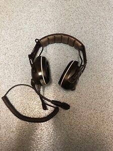 Msa Sordin Headphones for Kenwood two way radio
