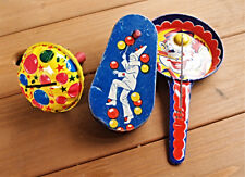 Vintage Tin Party Noise Makers Kirchhof US Metal Toys Company T G and Y