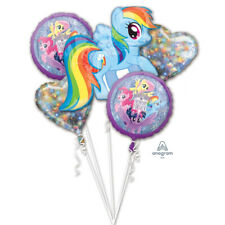 MY LITTLE PONY Foil Bouquet Balloons Kids Birthday Party