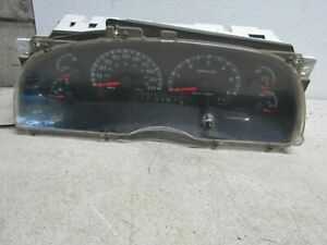 2000 Ford F150 Instrument Cluster Speedometer