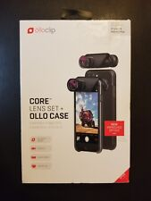 olloclip CORE LENS SET + OLLO CASE Combo for iPhone 7/ 7 Plus Free Shipping New
