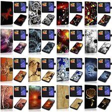 ALCATEL U5 (4G) 5044D - Book Flip Cover Handyhülle Case Handytasche Schutzhülle