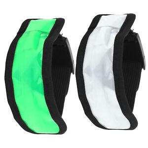 LED Release Buckle Type Luminous Armband Adjustable Flashing Wristband Cycling