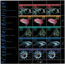 DEEP SEA CREATURES COMPLETE SHEET OF 15 STAMPS SCOTT 3039-3043 MNH