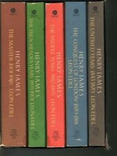 Henry James, the Complete Biography by Leon Edel 5 Volumes Paperback