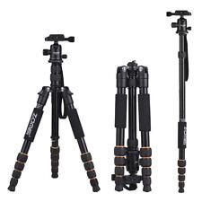 ZOMEI Q666 Travel Portable Camera Tripod Monopod +Ball Head+QR Plate+Bag Y1K2