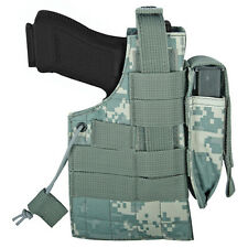 NEW - Tactical Military Large Frame Ambidextrous MOLLE Holster  ACU ARMY DIGI