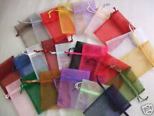 24 Organza Favor Gift Sheer Craft Bags Assorted 3x4