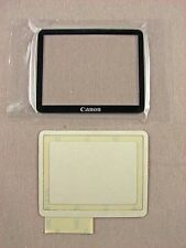 Canon EOS 40D TFT LCD Window + Tape GENUINE PART NEW