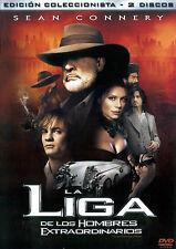PELICULA DVD LA LIGA DE LOS HOMBRES EXTRAORDINARIOS EDICION DE LUJO 2 DISCOS