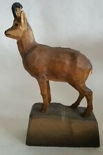 CARVED BLACK FOREST CHAMOIS
