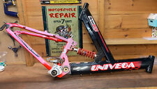 Retro Bike Bicycle Frame UNIVEGA FLYTE 800 Full Sus Alloy