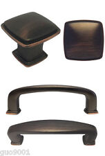 """Oil Rubbed Bronze Kitchen Cabinet Drawer Knobs 1 1/4""""  and Pulls  3"""" 3 3/4"""""""