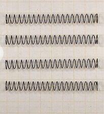 4 x Druckfeder, Länge 80mm, Außen Ø8,63mm, Drahtstärke 0,63mm