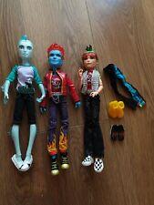 More details for monster high boys holt hyde boys x 3 dolls hard to find