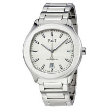Piaget Polo S Silver Dial Automatic Mens Watch G0A41001