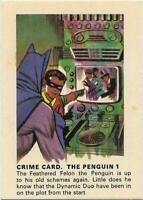 1966 Batman Weeties & Rice Krinkles Crime Card - The Penguin 1