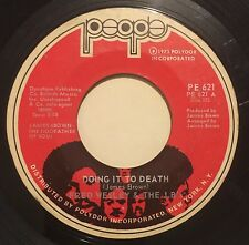 FRED WESLEY & JB'S Doing It To Death/Everybody's Got Soul 45 People funk