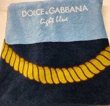 Dolce Gabbana Light Blue Beach Towel