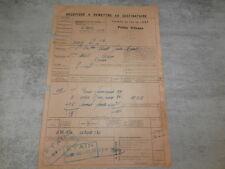 Chemin Fer de l' EST Gare VIVIER au court Vrigne fonderie MANIL ..gaufriers 1922