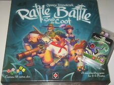 Rattle,Battle,Grab the Loot+expansion NEW SW pirate dice&board game